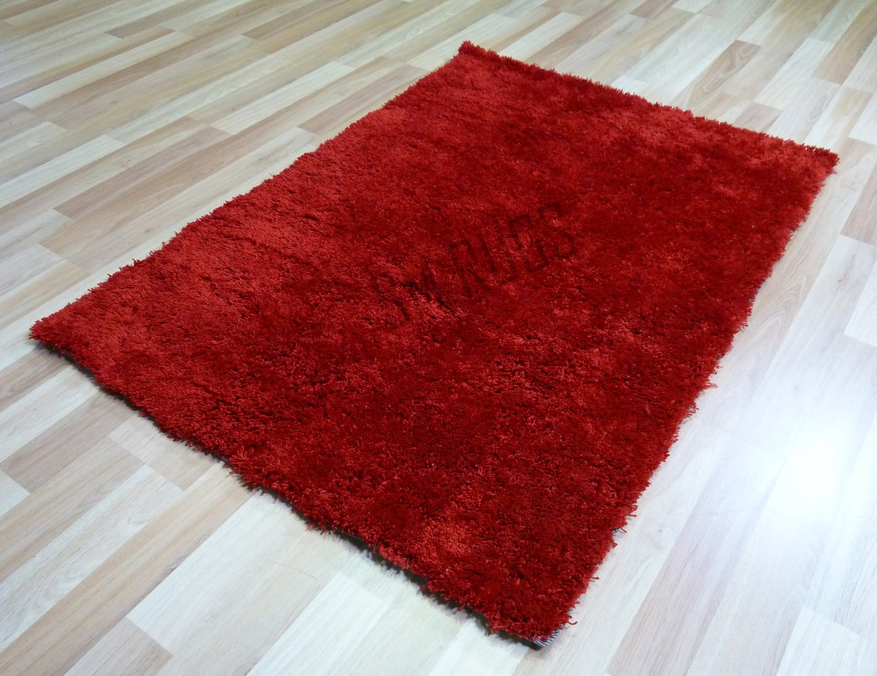Red Fluffy Rug Roselawnlutheran