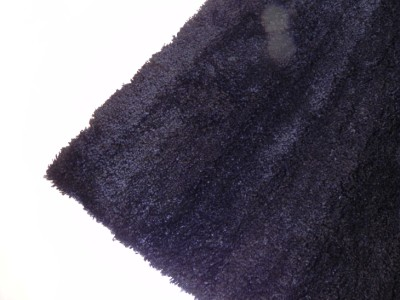 Black Shaggy Floor Rug Soft Plush Fluffy Rugs Carpet Xx