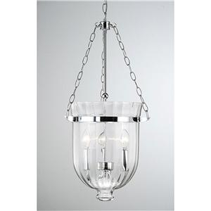 ... OLD FASHIONED GLASS CHROME CEILING PENDANT CHANDELIER LIGHT FIXTURE