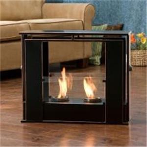 black portable indoor outdoor patio deck floor gel fuel