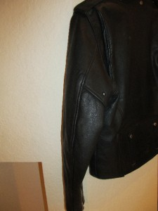 HARLEY DAVIDSON ~ Size 48 XL ~ Mens Black Leather Motorcycle Jacket