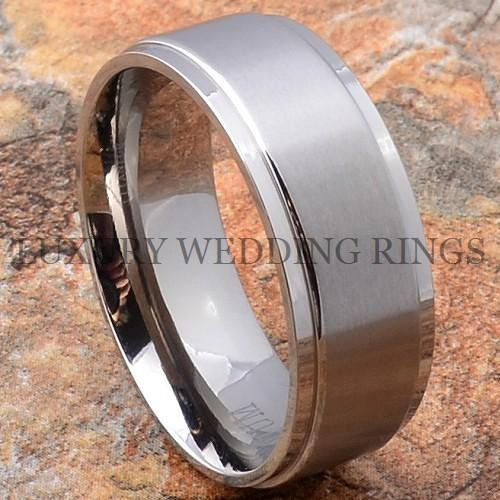 Titanium Wedding Band Ring Mens Jewelry Matte Size 6-13 in Jewelry & Watches, Men's Jewelry, Rings | eBay