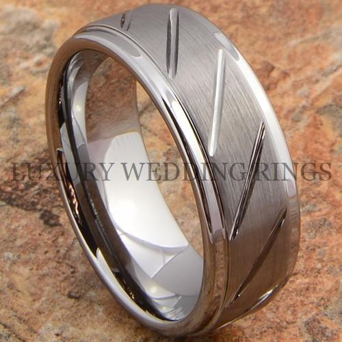 Tungsten Carbide Ring Love Men's Wedding Band Titanium Color Jewelry Size 6-13 in Jewelry & Watches, Men's Jewelry, Rings | eBay