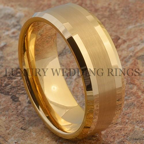 Tungsten Men's Ring Infinity 14K Gold Wedding Band Love Bridal Jewelry Size 6-13 in Jewelry & Watches, Men's Jewelry, Rings | eBay