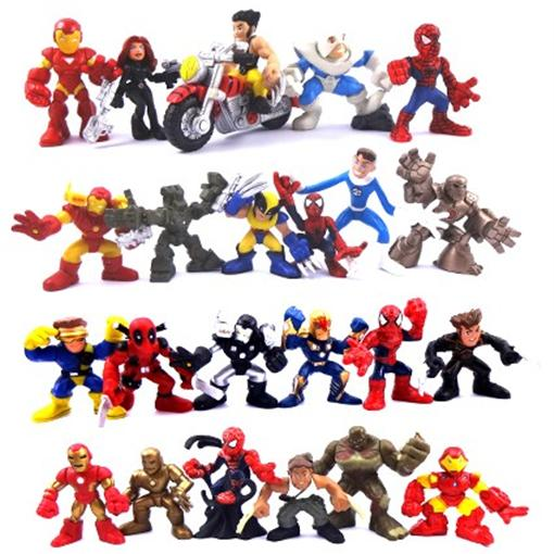 Lot-24-Marvel-Super-Hero-Squad-The-Amazing-Spider-Man-The-Avengers-Iron-Man-D02