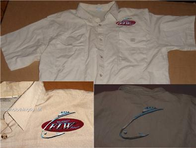 Flw Tour Walmart Mens Pro Fishing Fish Shirt 2xl Xxl Bass