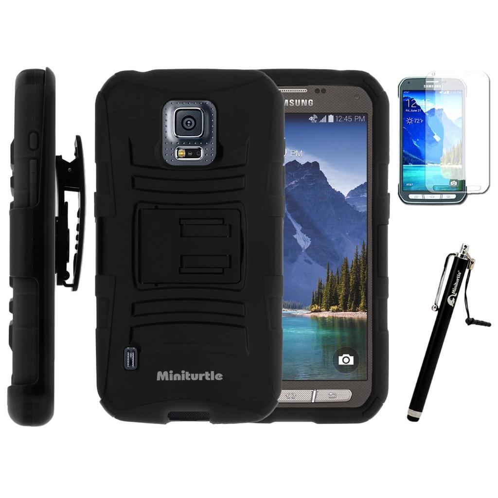 Samsung Galaxy S5 V ACTIVE G870 Holster Belt Clip Hybrid ...