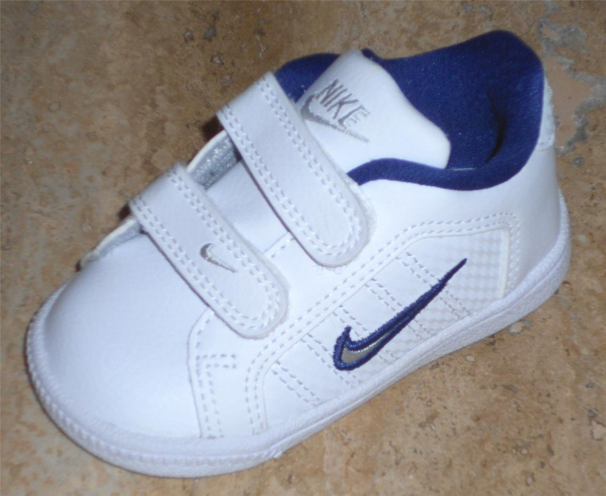 NIKE COURT TRADITION 2 PLUS INFANT BOYS LEATHER VELCRO