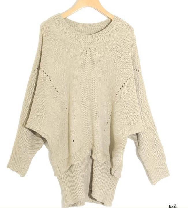 Пуловер С Рукавами Летучая Мышь С Доставкой