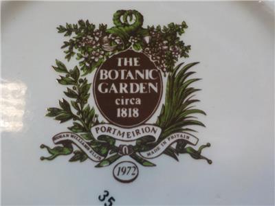 Vintage Portmeirion The Botanic Garden Circa 1818 Ceramic