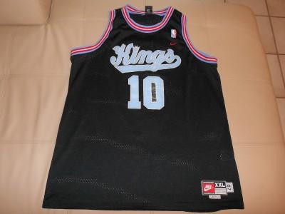 Mike Bibby Sacramento Kings Basketball Sewn Jersey 2XL