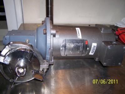 Hub City Worm Gear Drive Warner Motor Mod6211200 A Ebay