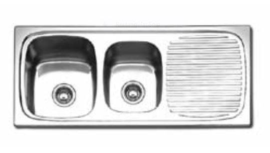 about Oliveri Ultraform Double 1 and 3/4 Bowl, Stainless Steel Sink ...