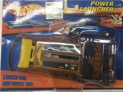 Hot wheels 2001 power launcher bonus blue ford for 2 box auto con stanza bonus