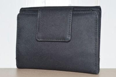 Kate Spade Small Black Nylon Wallet Change Coin Purse