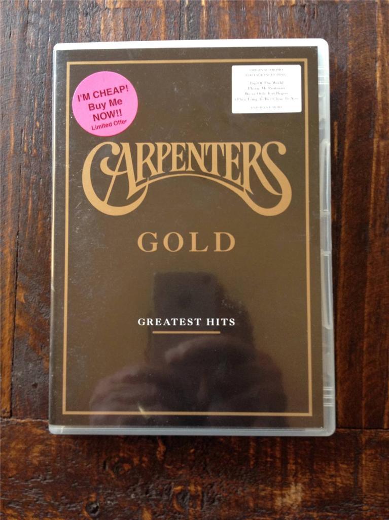 Carpenters-Gold-Greatest-Hits-DVD-MUSIC-MOVIE-REGION-4
