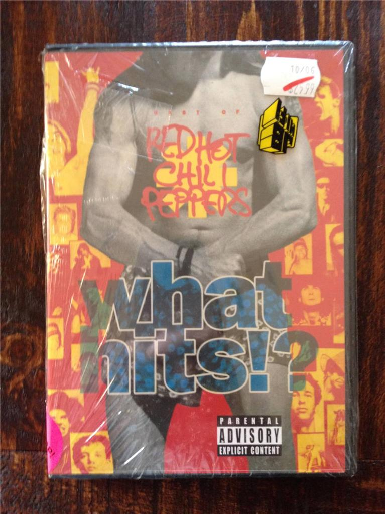 Red-Hot-Chili-Peppers-What-Hits-NEW-SEALED-RARE-PAL-4-MUSIC-DVD