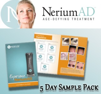 Nerium 5 Day Sample Pack Aging Treatment Skin Care Night, Wrinkle ...