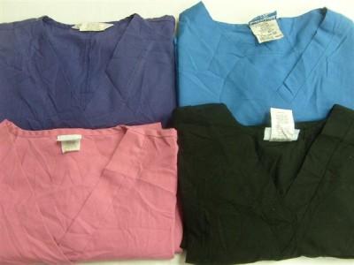 Medical Dental Vet Scrubs Lot of 15 pcs Shirts Tops Size Medium med