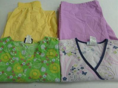 Vet Nurse Medical Dental Scrubs Lot 8 Outfits Sets Small S STRAWBERRY