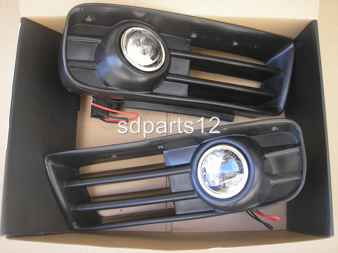 feux phares anti brouillards projecteur grille parechoc vw golf 4 97 06 e13 mark ebay. Black Bedroom Furniture Sets. Home Design Ideas
