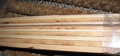 13 thin strips silver maple cherry oak ash wood lumber. Black Bedroom Furniture Sets. Home Design Ideas
