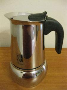 VINTAGE ITALIAN STOVE TOP COFFEE ESPRESSO MAKER STAINLESS STEEL GB INOX 18-10 eBay