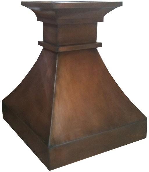 Rustic Range Hoods ~ Rustic copper colored tin metal range hood w cfm fan ebay
