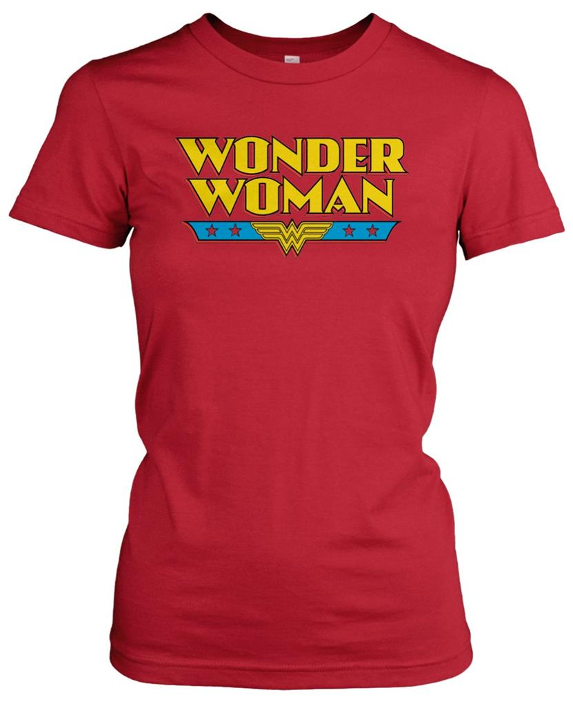 39 wonder women 39 ladies t shirt superhero retro funny for Retro superhero t shirts