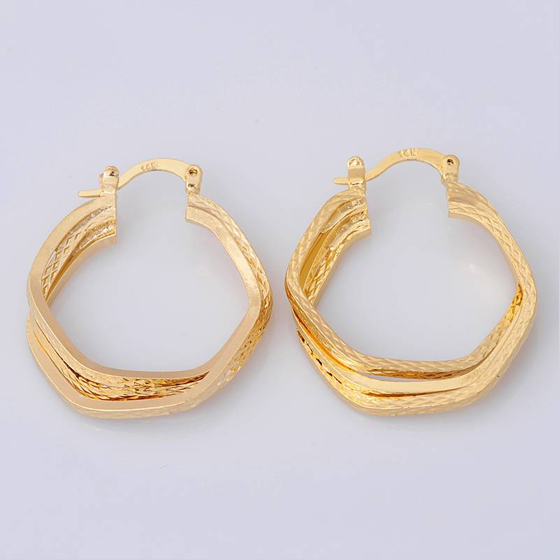 Awesome  Yellow Gold Filled Womens Small Hoop Earrings Earings Childrens  EBay