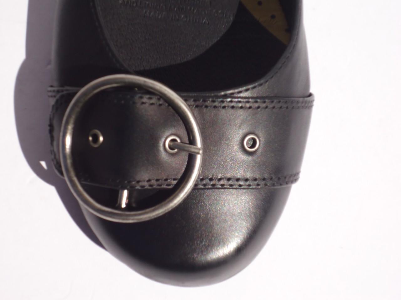 New-Womens-Leather-Shoe-Flat-Supersoft-Diana-Ferrari-Black-Sz-6-7-8-9-10-11-12