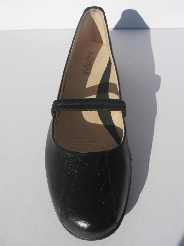 New-Womens-Diana-Ferrari-Leather-Shoe-Work-Black-Size-7-7-5-8-8-5-9-10-11-12-13