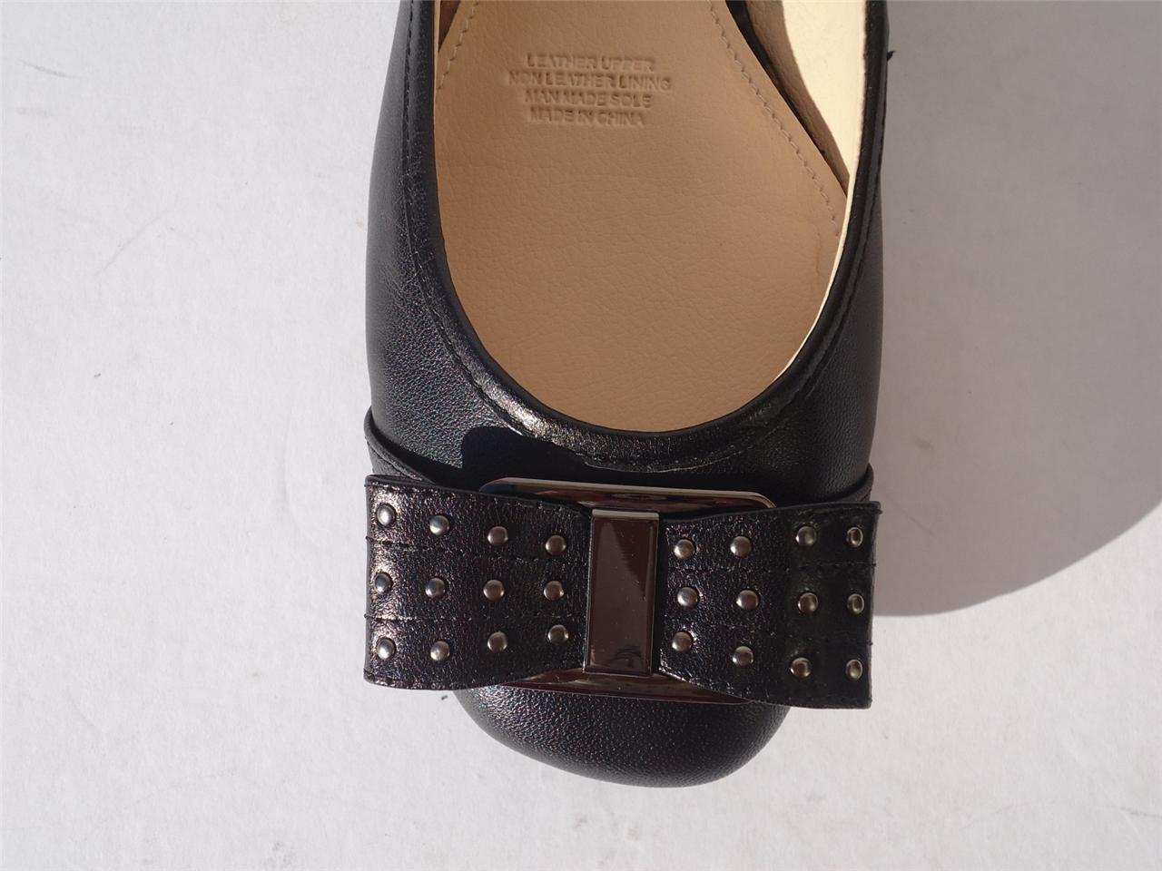 New-Womens-Ladies-Leather-Shoe-Ballet-Flat-Diana-Ferrari-Black-Sizes-9-10-11