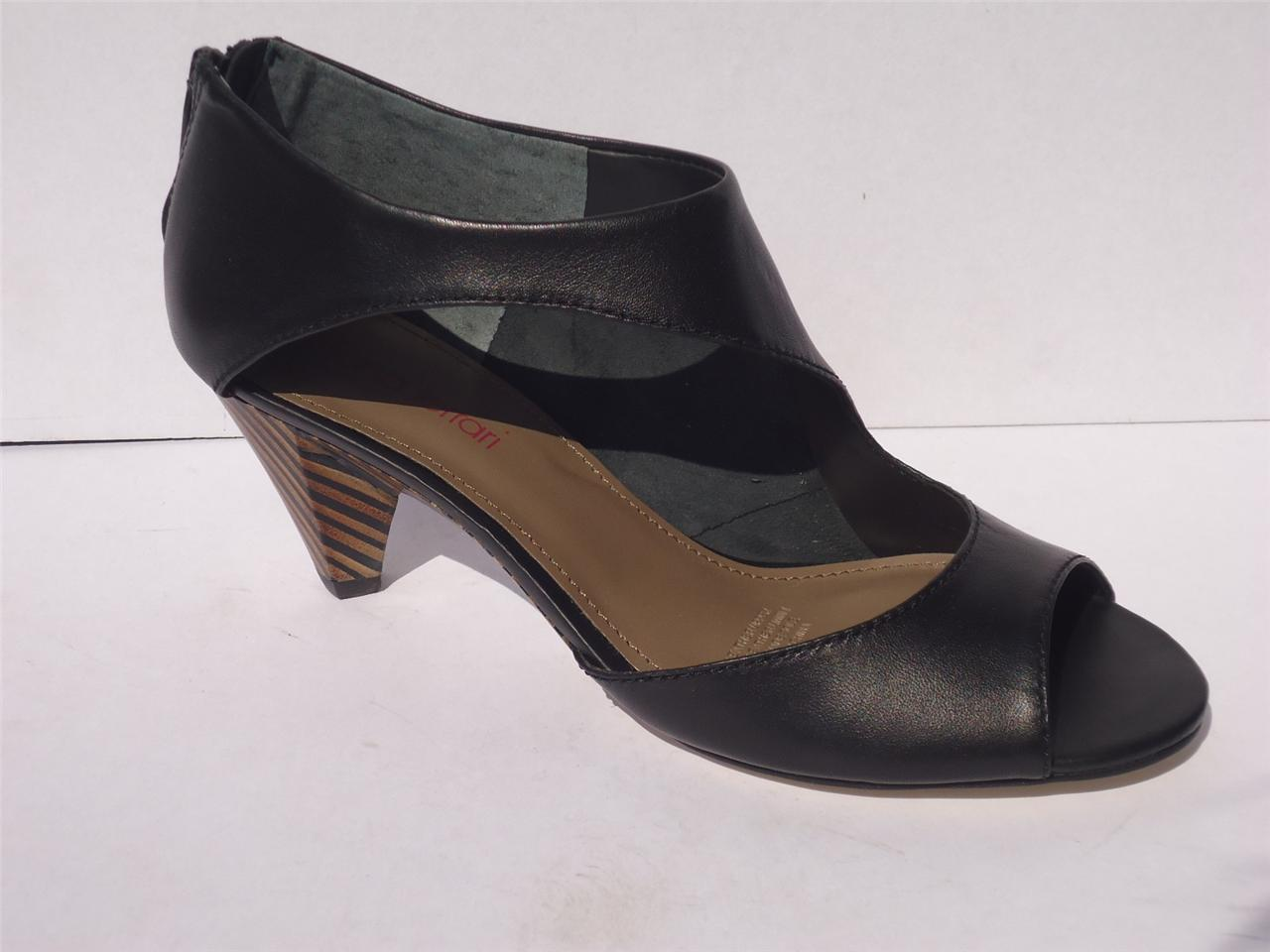 New-Womens-Diana-Ferrari-Leather-Dress-Work-Heel-Shoe-Black-Size-6-7-8-9-10-11