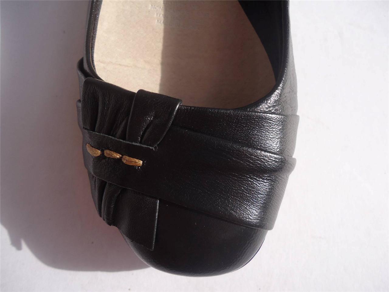 New-Women-Supersoft-Diana-Ferrari-Leather-Shoe-Work-Black-Sz-6-7-8-9-10-11-12