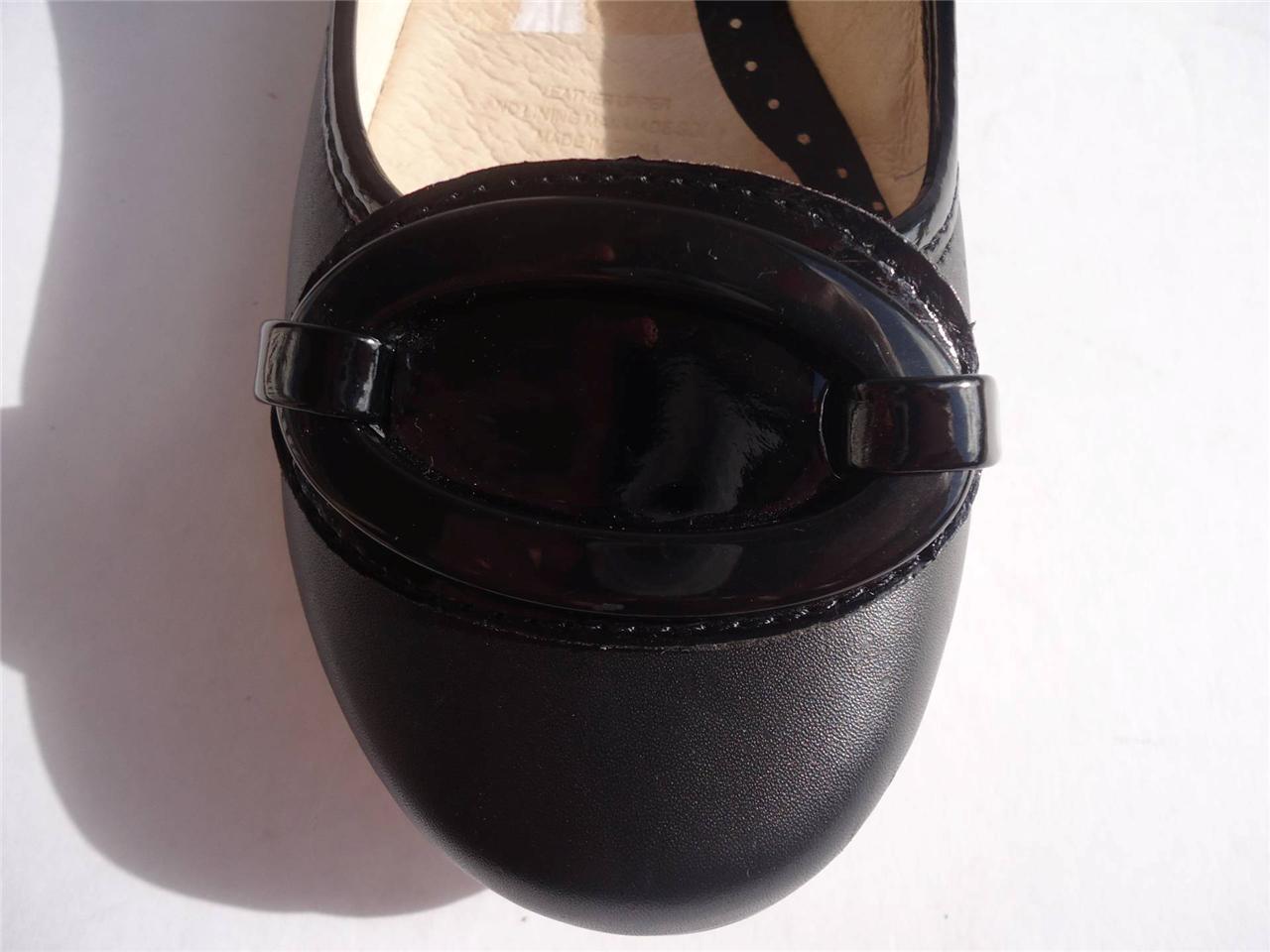 New-Women-Ladies-Diana-Ferrari-Leather-Shoe-Work-Flats-Black-Size-6-7-8-9-10-11