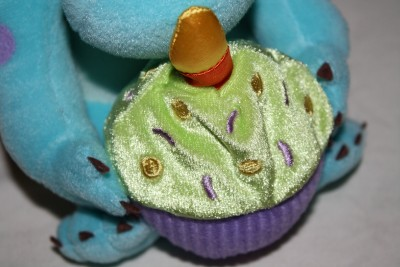 Sully Monster Birthday Plush Monsters Inc 8 inch Cake Candle