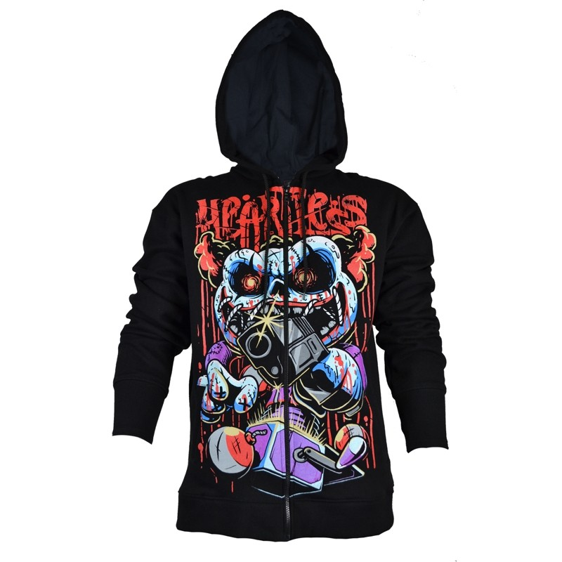 Stick Up Hood Brand New Heartless Clothing Mens Hoodie