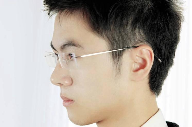 Rimless Glasses Look Good : New Mens Womens Rimless Titanium Eyewear Eyeglasses Frame ...