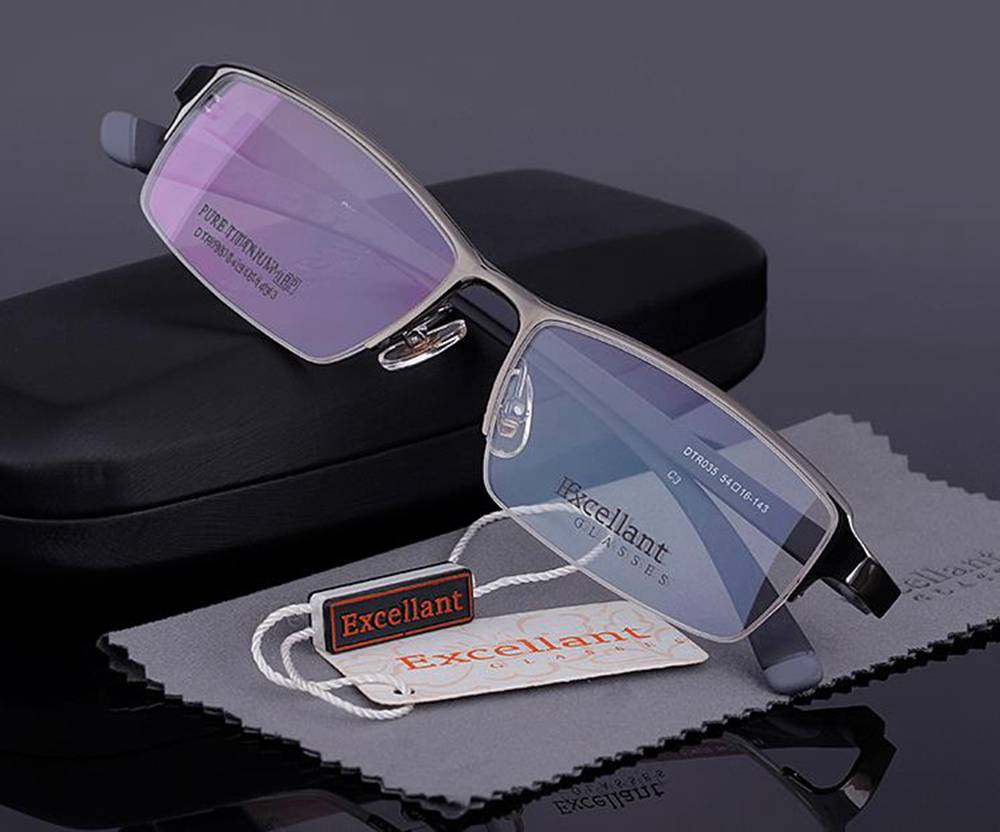 mens glasses frames ray ban  titanium mens