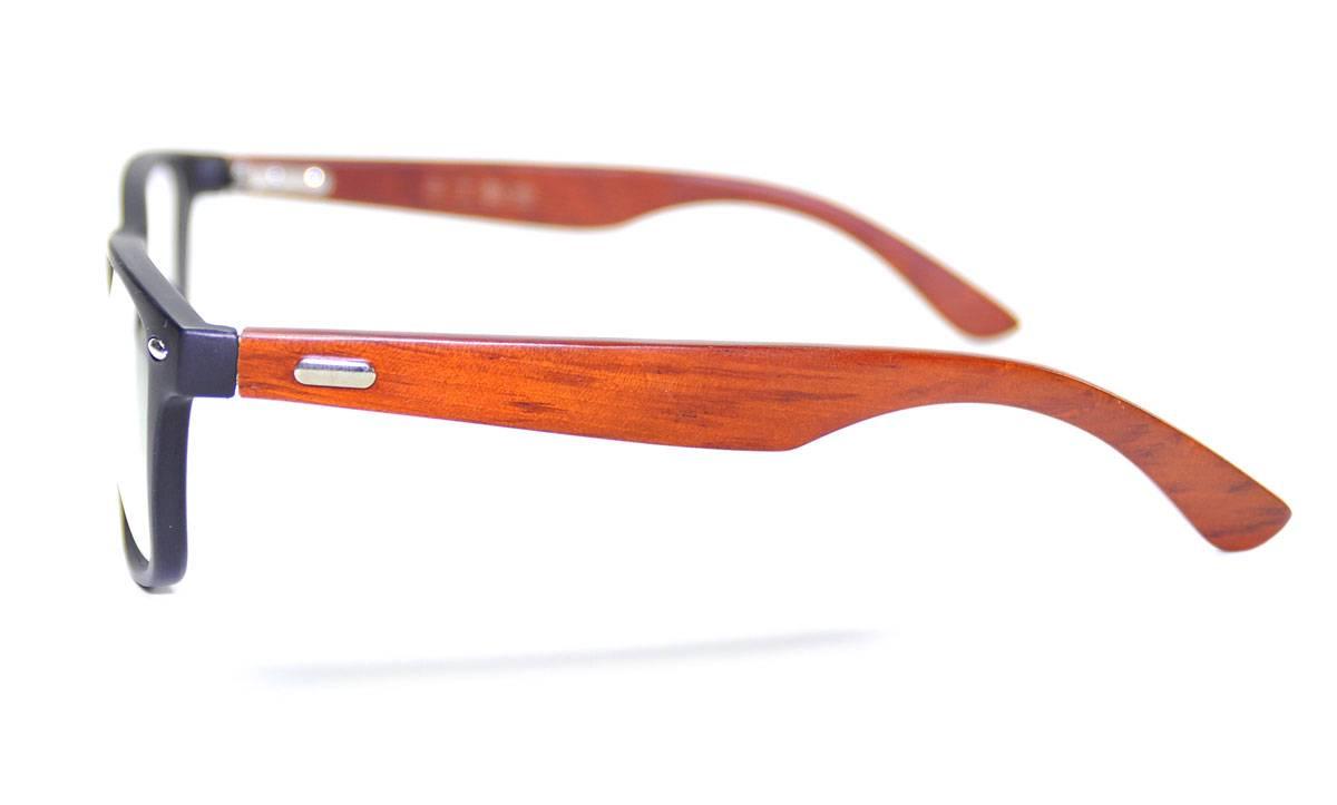 Glasses Frames You Can Sleep In : Fashion Mens Wooden Glasses Frame Oversized Eyeglasses ...