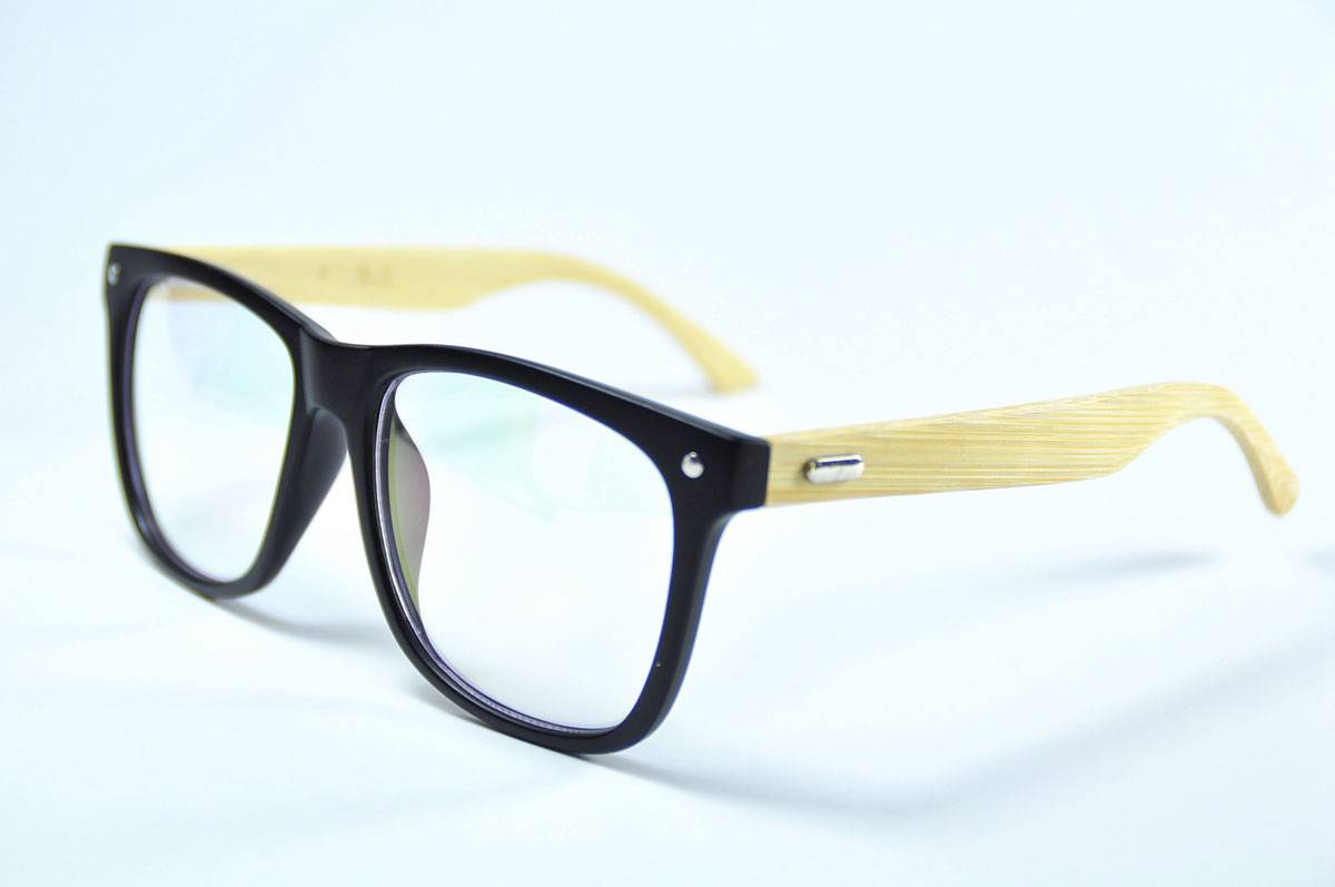 fashion handmade mens wooden glasses broad oversized