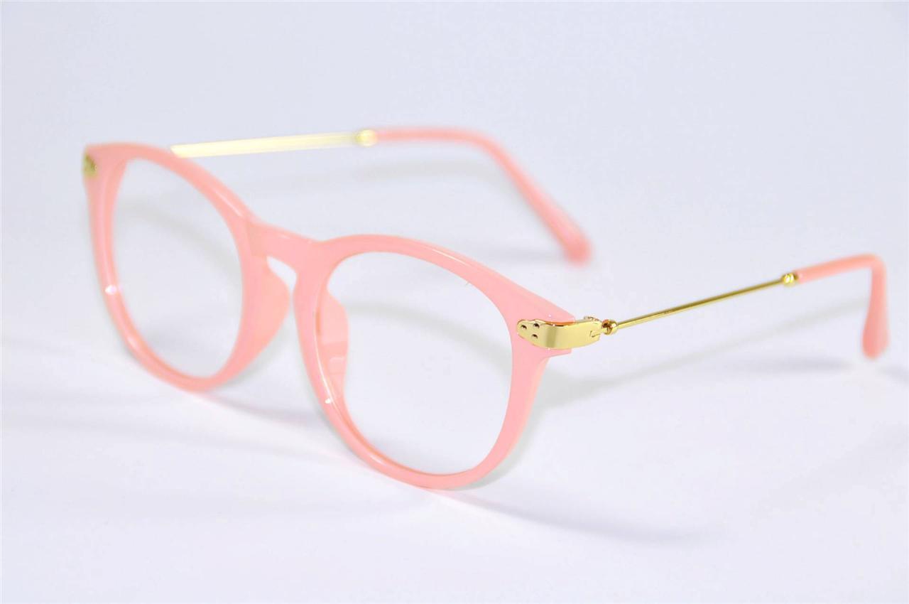 Glasses Frames Pink : Vintage Womens Cat Eye Wayfarer Glasses Frames ...
