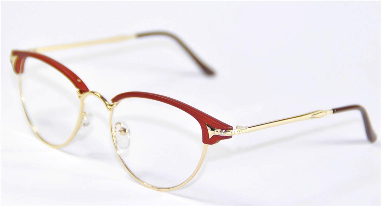 Vintage Retro Womens Girl Cat Eye Glasses Frames Eyewear ...