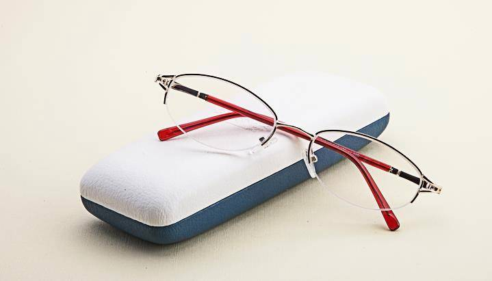Rimless Glasses Lightweight : Womens Half Rimless Gold Readers Reading Glasses ...