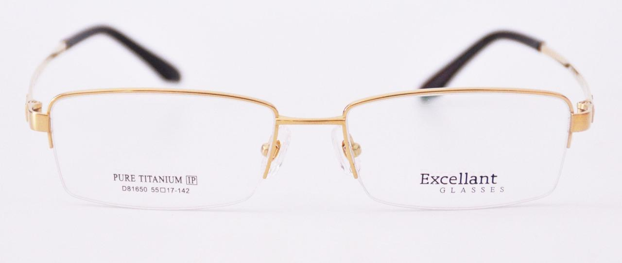 Half Rimless Eyeglass Frames : New Mens Classic Half Rimless Frame Eyeglass Frames RX ...