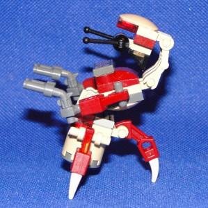 Lego Star Wars Super Destroyer Droid Droideka Custom SWDD 156