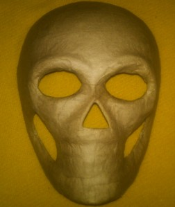 Day of The Dead Paper Mache Skull Mask to Decorate  eBay