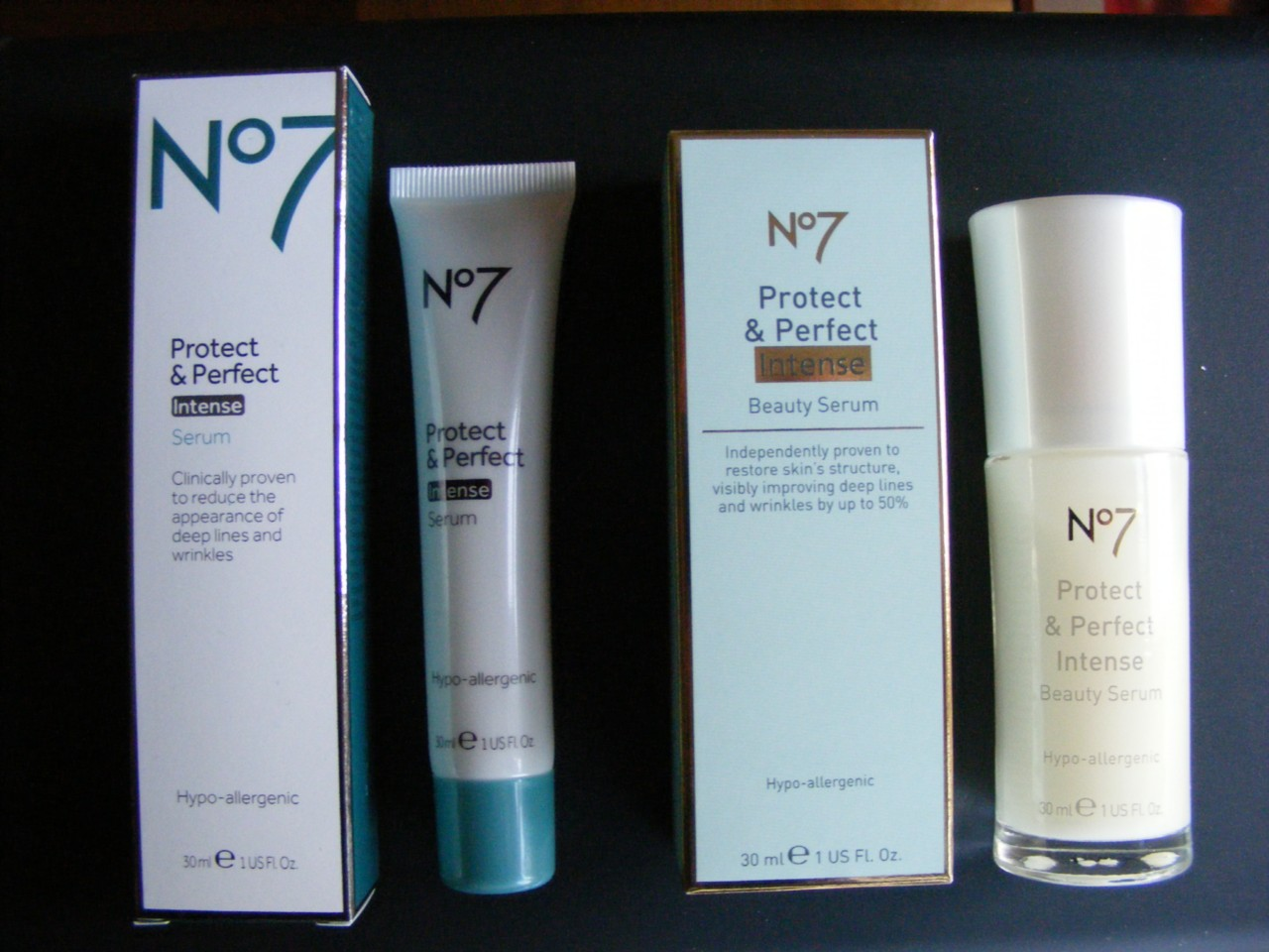 No 7 protect and perfect intense serum ingredients