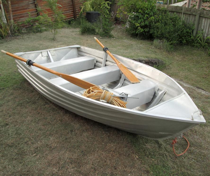 Brooker Cartopper 10 10ft Aluminium Tinny Fishing Boat